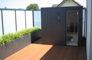 voser metallbau ag metall glas im garten. Black Bedroom Furniture Sets. Home Design Ideas
